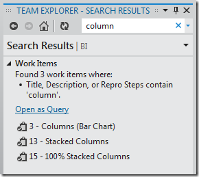Team Explorer VS11 Search