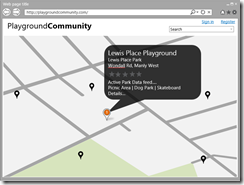 PlaygroundCommunity Mock Page 1
