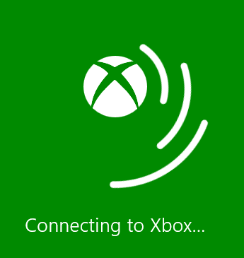 Xbox 360 Smart Glass Connecting