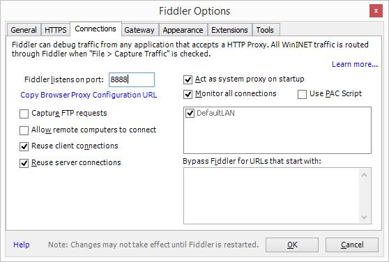 Capture IIS Network Traffic in Fiddler   Simplifying